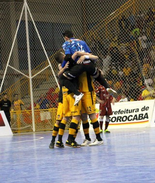 Sorocaba Futsal x Orlândia, quartas, Liga Nacional, LNF (Foto: Yuri Gomes / Magnus Futsal)