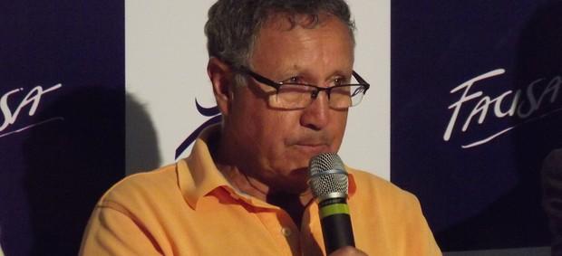 Carlos Nunes, presidente da Confederação Brasileira de Basquete (Foto: Silas Batista / Globoesporte.com/pb)