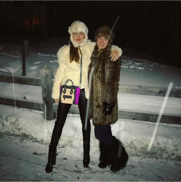 Marina Ruy Barbosa e amiga (Foto: Instagram / Reprodução)