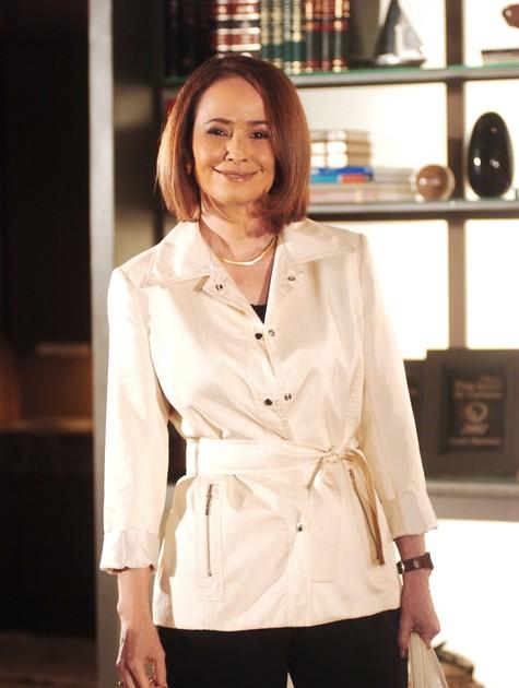 """Renée no mais recente trabalho na televisão, """"Paraíso tropical' (Foto: TV Globo)"""