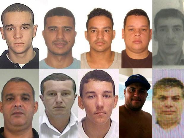 Homens estão sendo procurados pela Polícia Federal por tráfico internacional de drogas (Foto: G1)