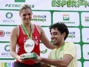 Felipe Haiut em Curitiba (Foto: Euricles Macedo/RPC TV)