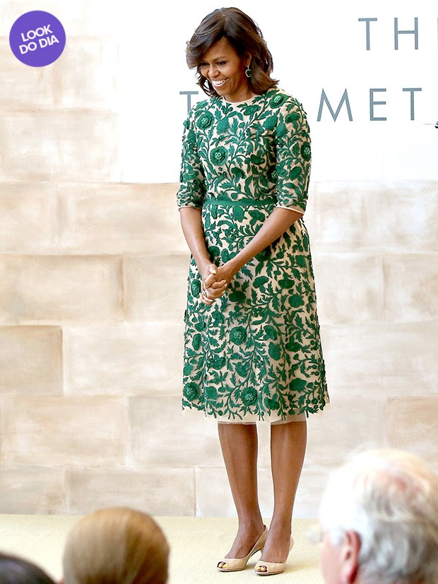 Look do dia - Michelle Obama (Foto: Getty Images)