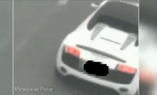 Na fuga, Shiad Mahmoon alcançou velocidade entre 231,7 km/h e 265,5 km/h (Foto: Reprodução/YouTube/Daniel Mark)