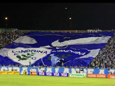 Londrina Torcida Estádio do Café (Foto: Site oficial do Londrina/Robson Vilela)