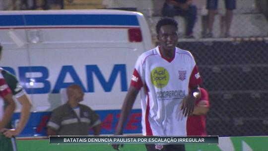 Batatais denuncia Paulista por suposta escalação irregular na Copa São Paulo