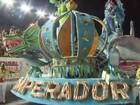 Imperador da Ilha é bicampeã do carnaval (Reprodução / TV Tribuna)