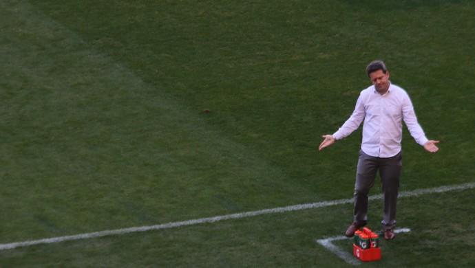 Argel comanda Inter contra o Botafogo (Foto: Tomás Hammes )