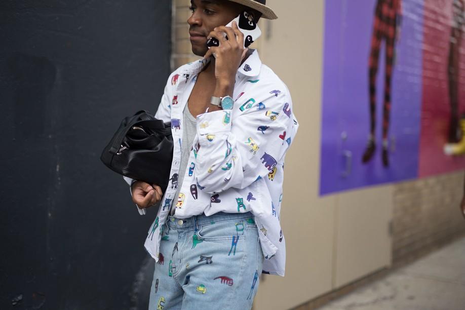 Street Style Semana de Moda de Nova York - verão 2017 (Foto: IMAXTREE)