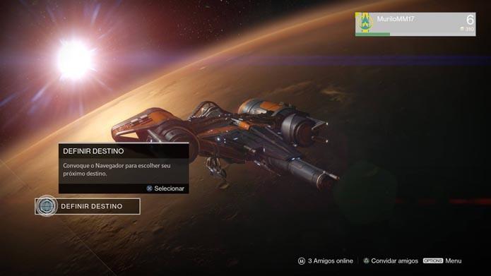 Destiny: saiba como jogar o modo multiplayer Controle (Foto: Reprodução/Murilo Molina)