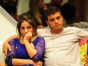 Anamara e Dhomini, que estão no segundo paredão do BBB 13 (Foto: Divulgação/TV Globo)