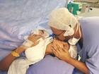 MC Pocahontas dá à luz Vitória: 'O melhor dia da minha vida'