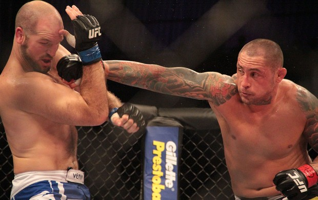 Thiago Silva x Matt Hamill UFC MMA (Foto: Rodrigo Malinverni)
