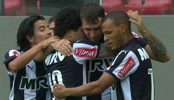 Atlético-MG (Foto:  Reprodução/TV Globo)