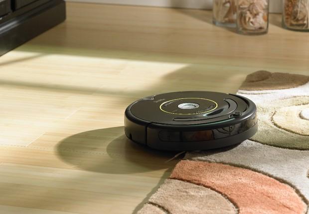 O aspirador de pó Roomba (Foto: Divulgação)