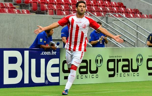 Pedro Carmona gol Náutico (Foto: Ademar Filho / Futura Press)