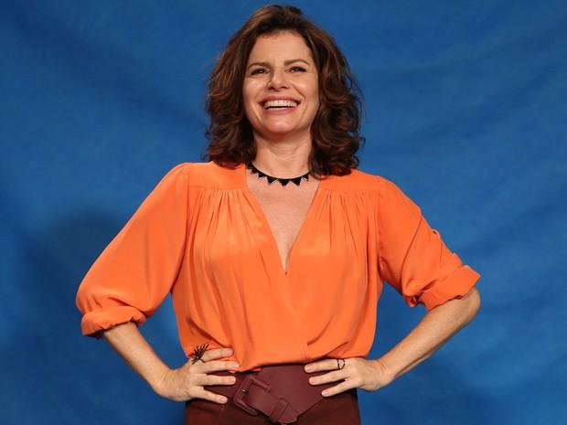 Débora Bloch será a jornalista Lígia na nova novela das 6 (Foto: Carol Caminha/Gshow)