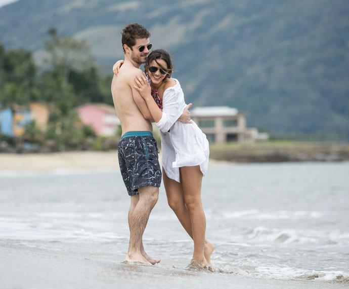 MariBen é amor! ♥♥♥ (Foto: Raphael Dias/Gshow)