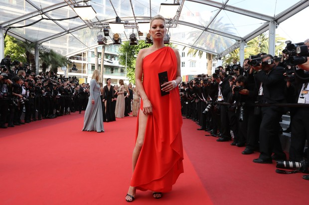 Kate Moss no Festival de Cannes (Foto: AFP)