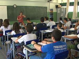 Pesquisa apontou que 79% dos alunos utilizam internet (Foto: Marlon Tavoni/EPTV)