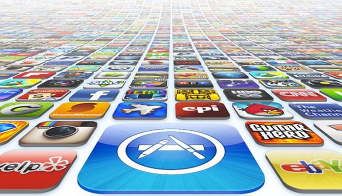 App Store foi lançada em 2008 e já conta com mais de 100 bilhões de downloads (Foto: Divulgação/Apple)