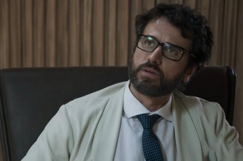 'O outro lado do paraíso': Eriberto Leão é Samuel (Foto: TV Globo)