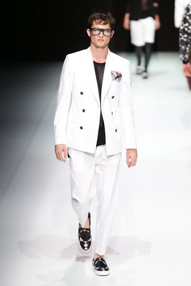Desfile de Andrea Pompilio na Semana de Moda de Milão, Primavera/Verão 2014