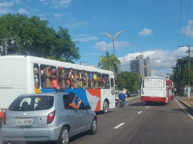 Operação ocorreu na última semana (Foto: Divulgação/Detran-AM)