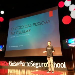 O palestrante Bruno de Camargo (Foto: Betina Neves)