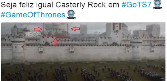Rochedo Casterly (Foto: Divulgação )