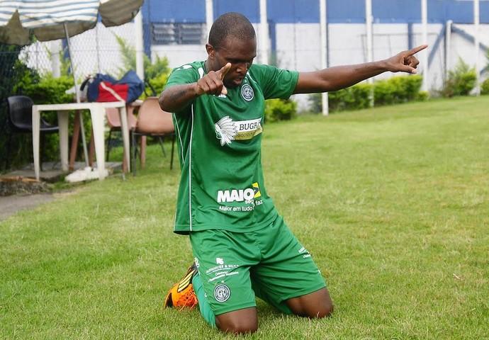 Gol Malaquias, São Caetano x Guarani (Foto: Rodrigo Villalba/ Divulgação Guarani)