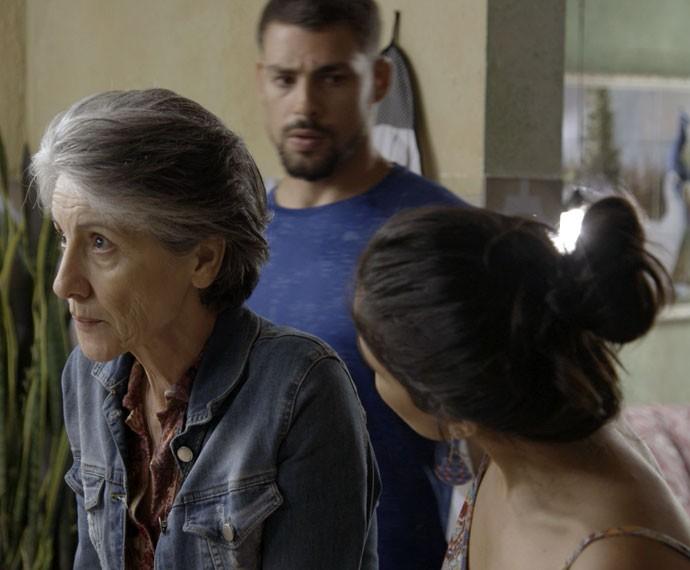 Será que a professora vai desmentir? (Foto: TV Globo)