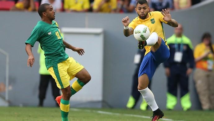 Gabriel Gabigol Brasil x Africa do Sul (Foto: Lucas Figueiredo / MoWA Press)