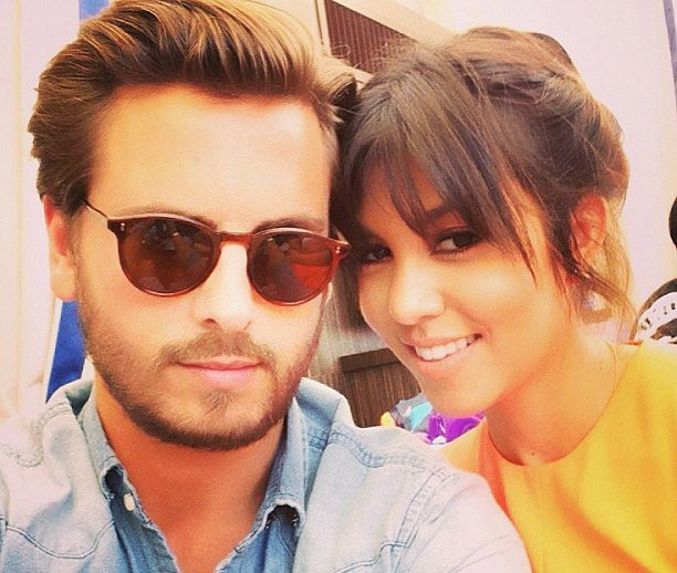 Scott Disick e Kourtney Kardashian (Foto: Instagram)
