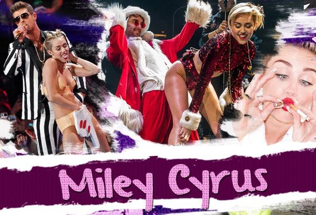 Miley Cyrus (Foto: Getty Images e AKM)