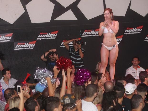 Concurso Garota e Garoto Fitness em São Paulo (Foto: Iwi Onodera/ EGO)