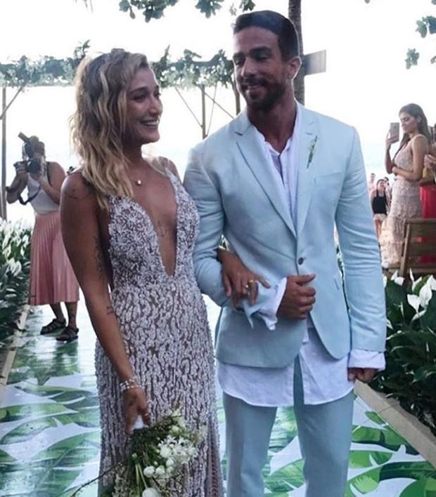 Gabriela Pugliesi se casa com Erasmo Viana (Foto: Reprodução/Instagram)