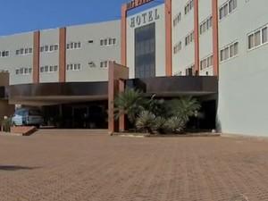 Hotel em Várzea Grande irá acomodar jogadores de seleções (Foto: Reprodução/TVCA)