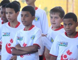 Projeto coordenador por Sócrates Júnior atende duas mil crianças na região de Ribeirão Preto (Foto: Cleber Akamine)