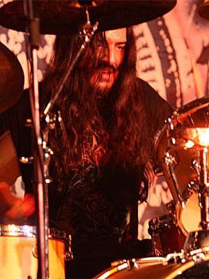 Max Kolesne - baterista do Krisiun (Foto: Divulgação)
