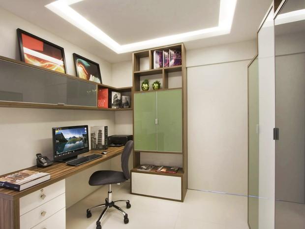 home office projeto gerson dutra de sá 3  (Foto: Divulgação)