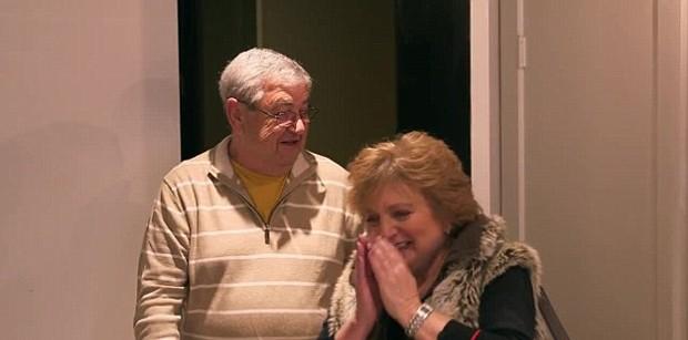 Mark e Elvira, pais de Mila Kunis (Foto: Reprodução)