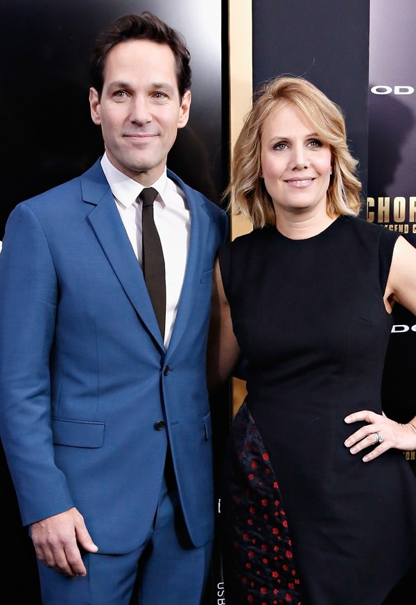 Paul Rudd e Julie Yager  (Foto: Getty Images)