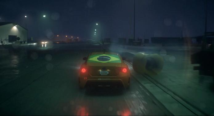 Chove a todo momento em Need for Speed (Foto: Reprodução / TechTudo)