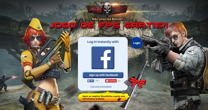 Abra o link do jogo (Foto: Reprodução/Murilo Molina)