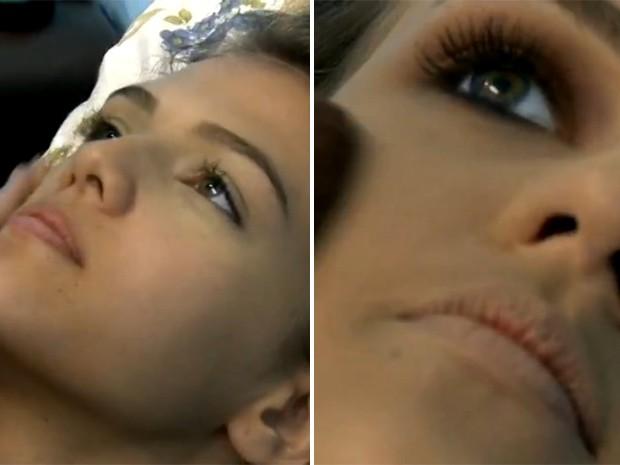 Antes e depois: blogueira Alice Salazar ensina maquiagem leve para o dia a dia (Foto: Mais Você / TV Globo)