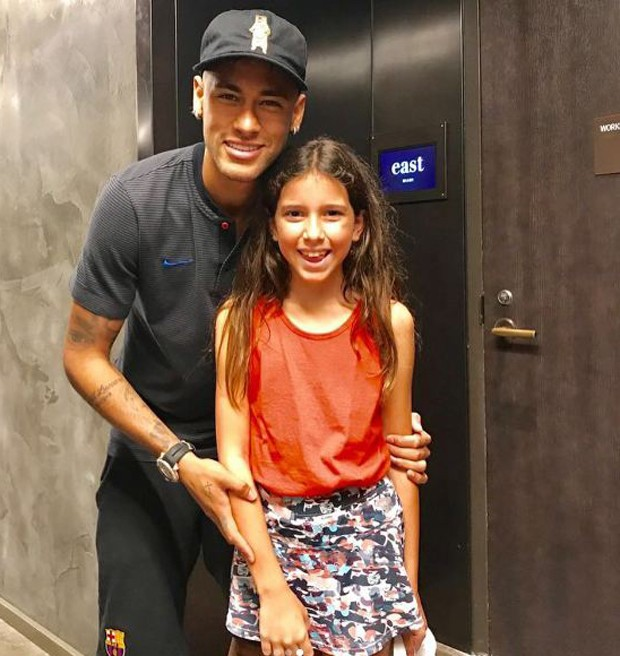 Neymar e Maria (Foto: Reprodução/Instagram)