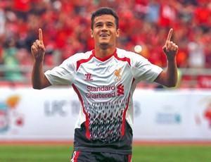 Philippe Coutinho comemoração gol Liverpool (Foto: Reuters)