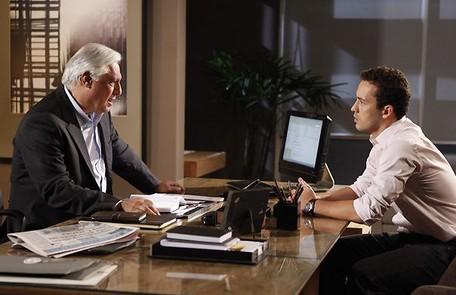 Em 'Insensato coração', foi a vez de Fagundes viver o executivo de marketing Raul Brandão Divulgação/TV Globo