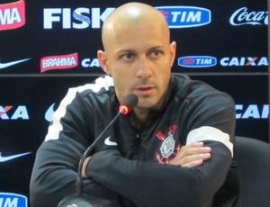 Alessandro Coletiva Corinthians (Foto: Diogo Venturelli)